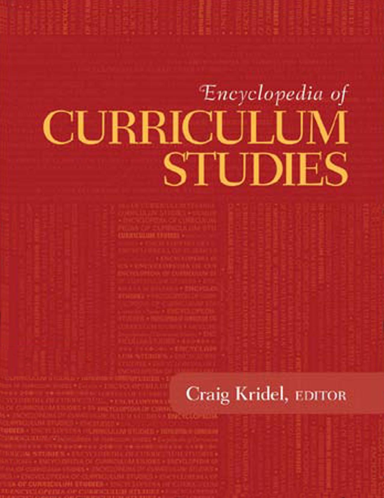 دانشنامه مطالعات برنامه درسی (کریدل، ۲۰۱۰) – بخش یازدهم